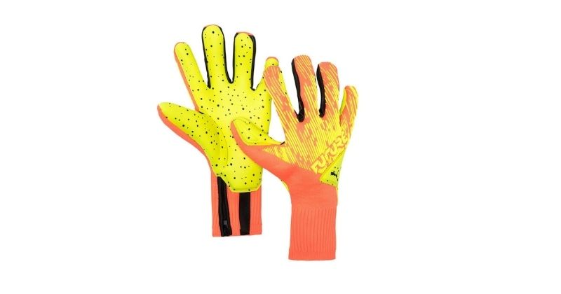 puma future 5.1 grip hybrid goalkeeper gloves
