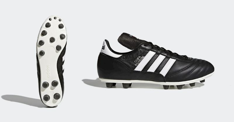 adidas copa mundial in black and white