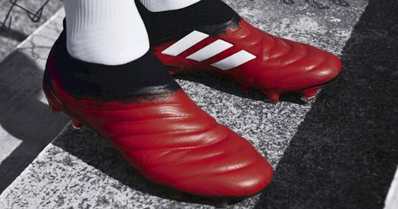 red and black adidas copa 20 football boots