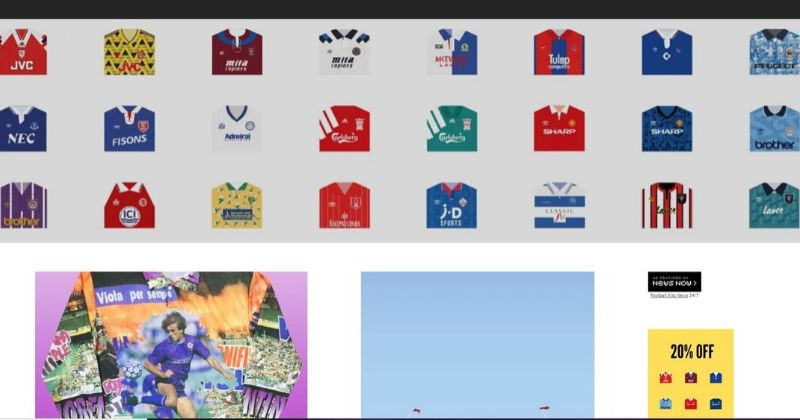 football shirt collective website