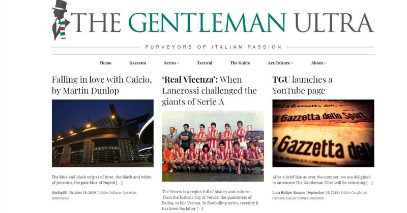 the gentleman ultra website