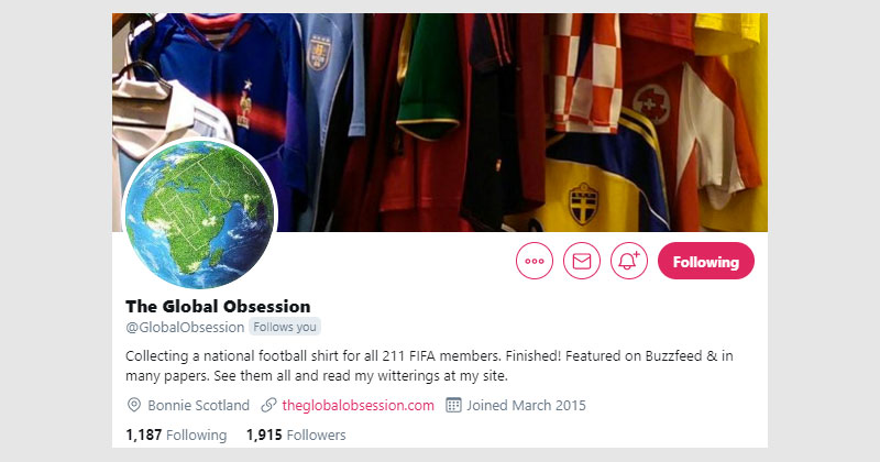 the global obsession twitter