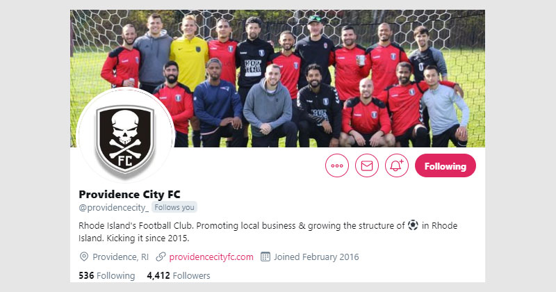 providence city fc twitter