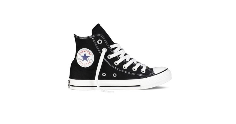 classi converse chuck taylor all star trainers in black and white