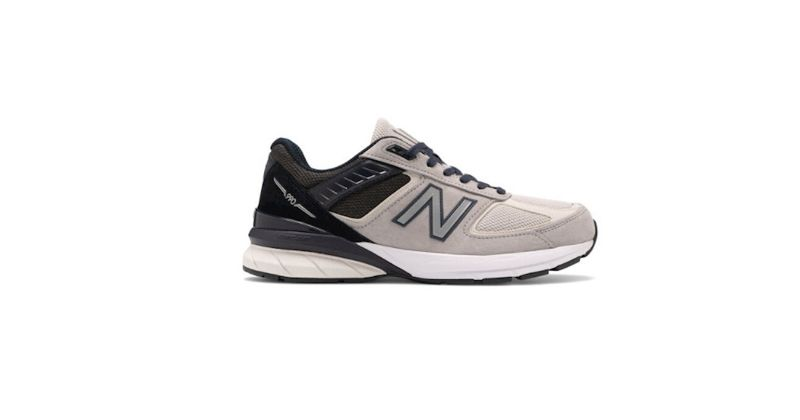 grey new balance 990 v5 trainers