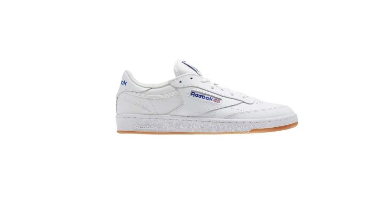 classic white reebok club c trainers