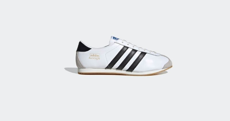 white adidas training 76 spezial ss20 trainers