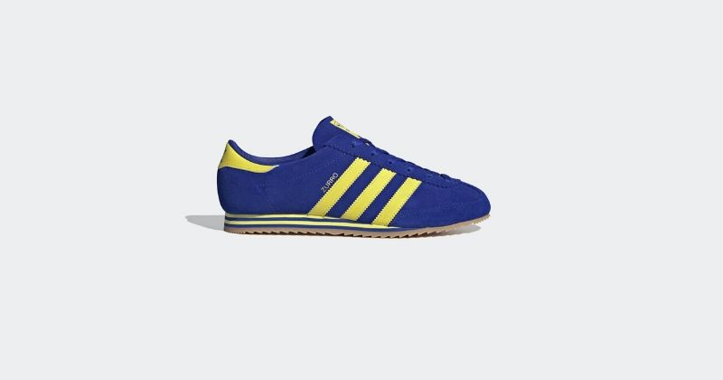 blue adidas zurro spezial trainers from the ss20 collection