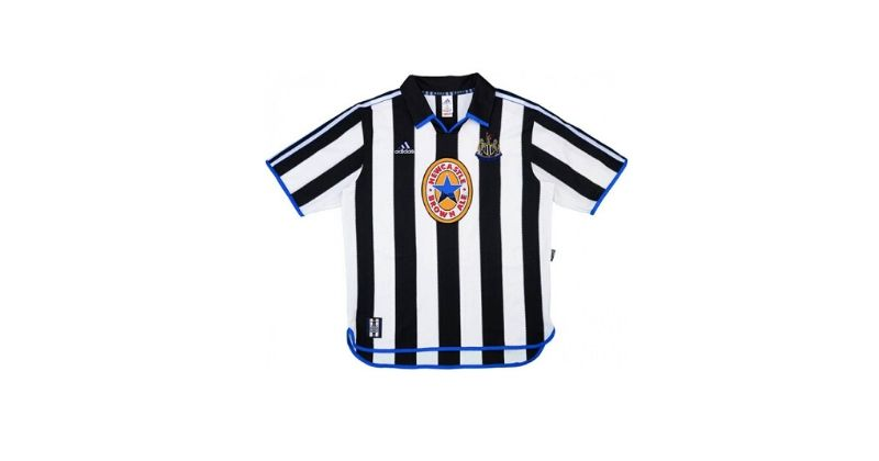 classic newcastle home shirt with newcastle brown ale sponsor