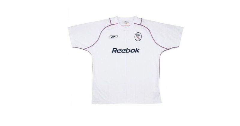 bolton 2001 home shirt with reebok sponsor