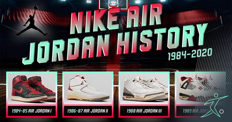 Nike Air Jordan history (complete 1984