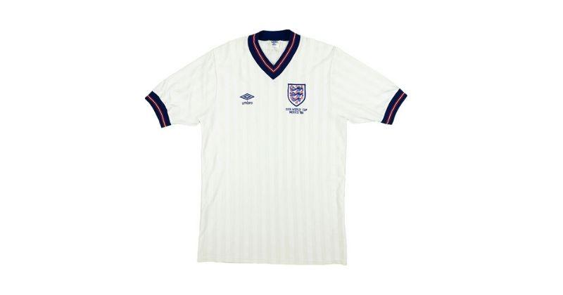 The 10 best England football shirts ever (1966-2021) - FOOTY.COM Blog