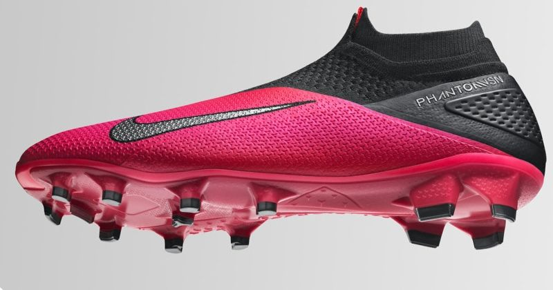 red and black nike phantom vision 2 boots