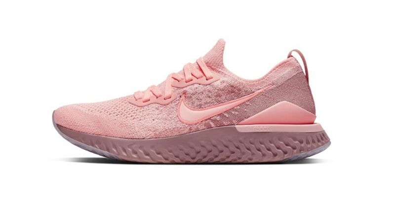Nike Epic React Flyknit 2 womens trainer in pink