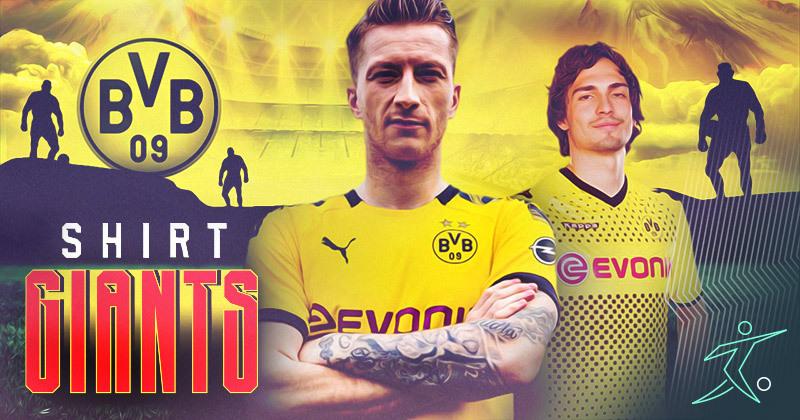 10 greatest Borussia Dortmund kits ever (1990-2020) | FOOTY.COM Blog