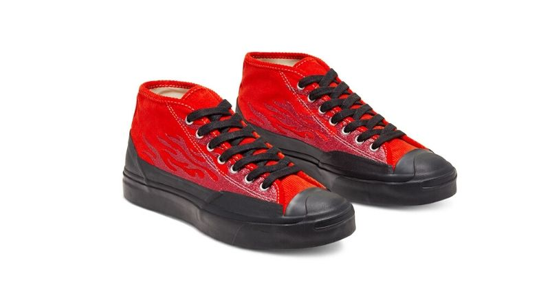 red asap nast x converse trainers