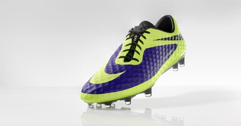 grey nike hypervenom boots from hi vis pack