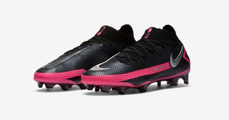 nike phantom GT elite football boots pink black