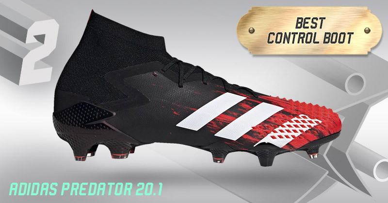 adidas predator 20.1 boots in red and black