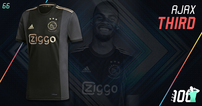 ajax black and gold 2020-21 third kit