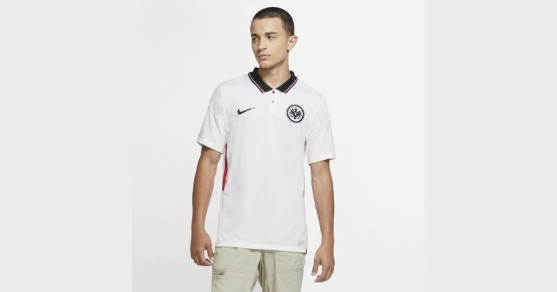 eintracht frankfurt 2020-21 home shirt in white