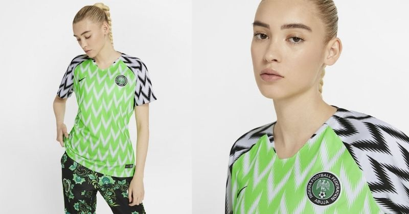 nigeria womens shirt from 2018 world cup