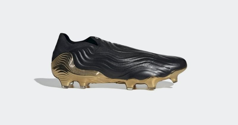 adidas copa sense football boots in black and gold