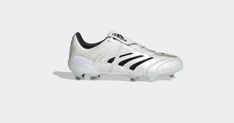 adidas predator eternal class football boots in white leather