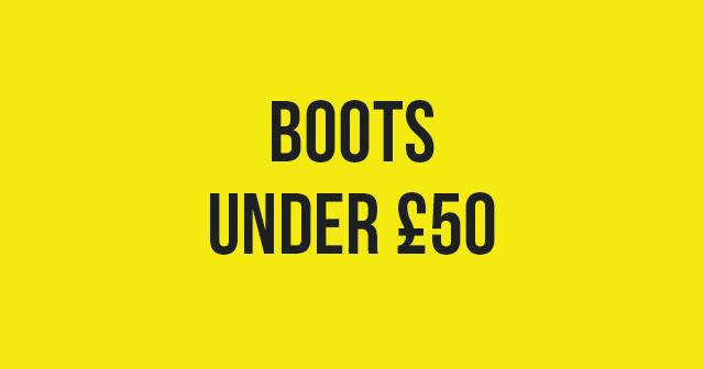 Boots under 50
