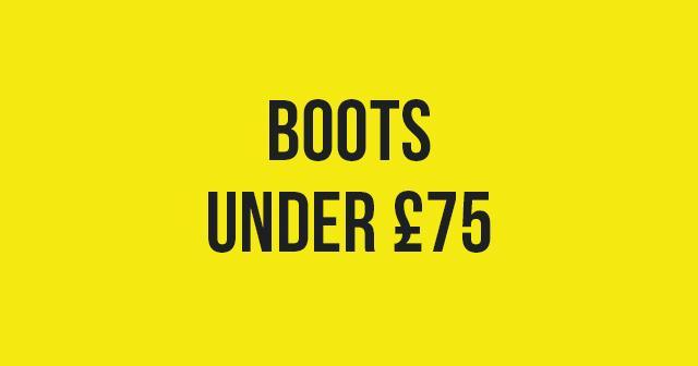 Boots under 75