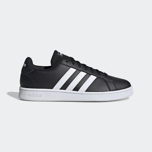 adidas Originals Grand Court Sneaker Herren rotweiß, 7.5 UK