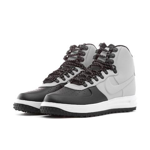 Nike Lunar Force 1 Duckboot '18 Black Wolf Grey Pure Platinum