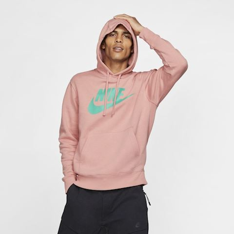Club Fleece Pullover Hoodie Pink