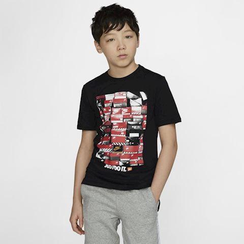 Nike Sportswear Older Kids' (Boys') T Shirt Black