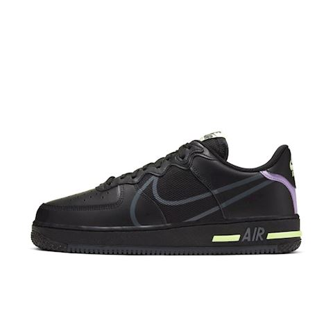 Nike Air Force 1 React Men's Shoe Black