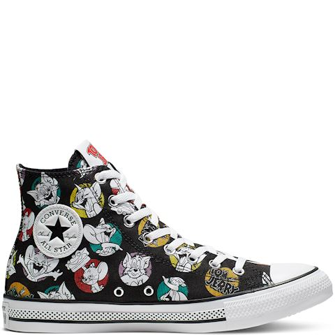 Converse Tom and Jerry Chuck 70 High Top EgretRedBlack For Sale