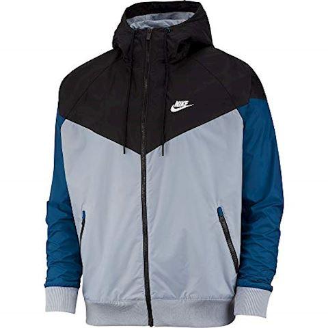 Nike Windrunner Jacket Obsidian Black Blue Sail