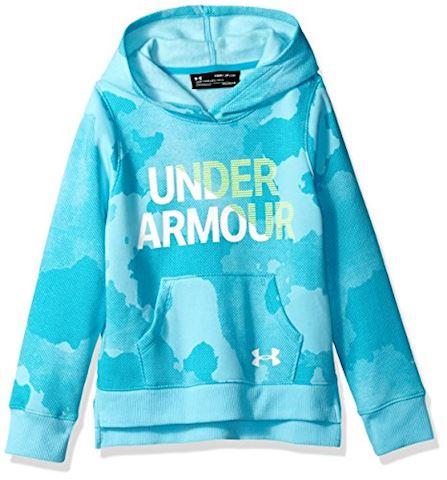 Under Armour Girls Armour Wordmark Fleece Top