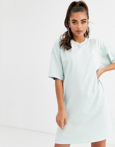 adidas Originals t-shirt dress in mint