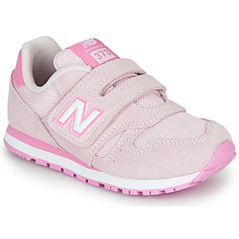 New Balance 373 Hook and Loop Shoes - Cherry Blossom/Candy Pink