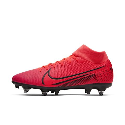 Nike Mercurial Superfly 7 Academy SG PRO Anti Clog Traction Soft Ground Football Boot Red