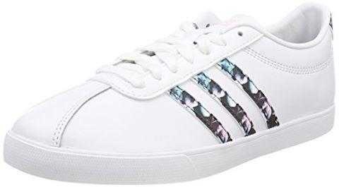 adidas courtset leather ladies trainers