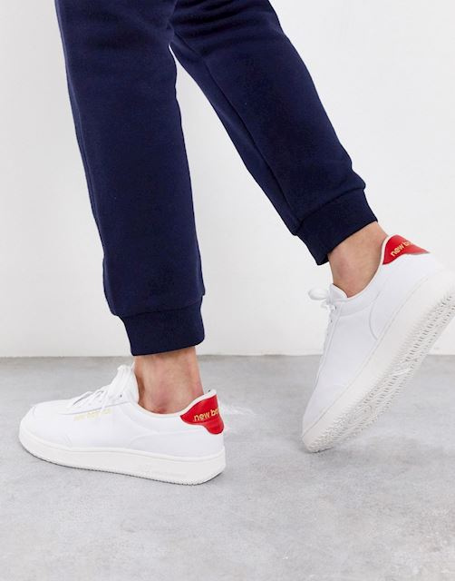 New Balance CT Alley Shoes - White/Red