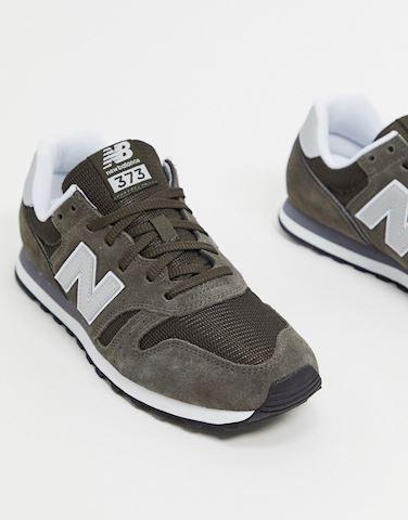 New Balance 373 Shoes - Black Olive/White