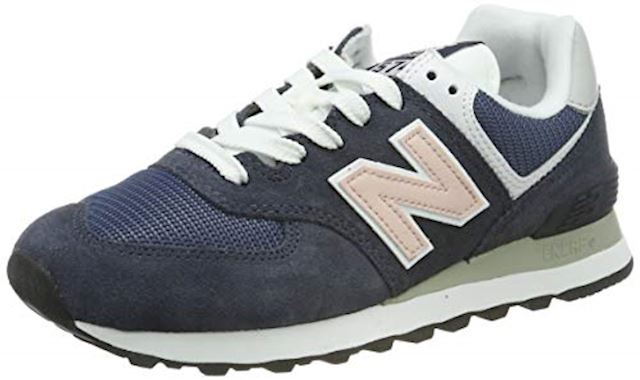 Cubo marco Brillante  New Balance 574 Shoes - Outerspace/Oyster Pink | WL574BTC | FOOTY.COM