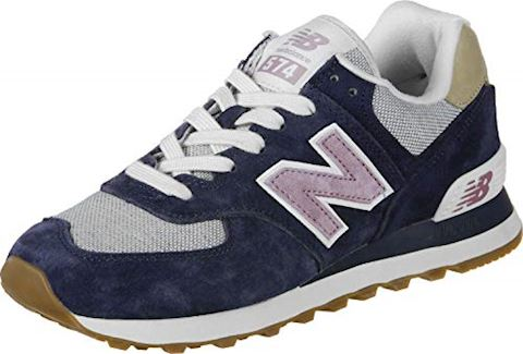 New Balance 574 Shoes - Navy/Cashmere