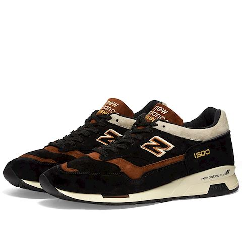 New Balance Made in UK 1500 Shoes - Black/Brown/Beige