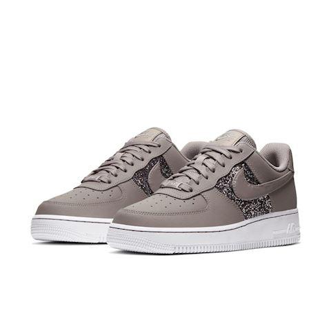 Nike Air Force 1 Low Women's Glitter Shoe Grey