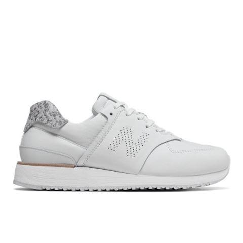 New Balance Leather 745 Shoes - White