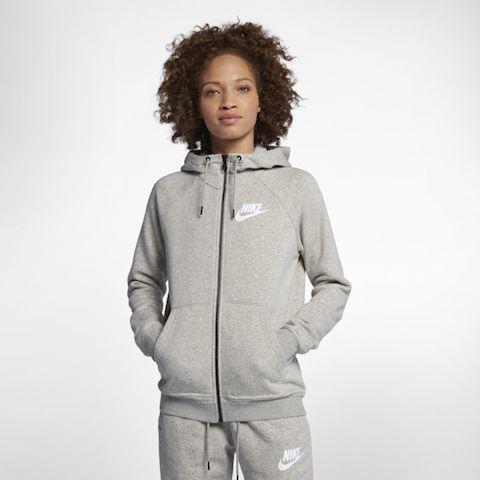 Nike Sportswear Rally Women's Full Zip Hoodie Grey